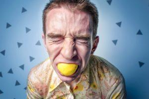 Speichel-Zitronensäure