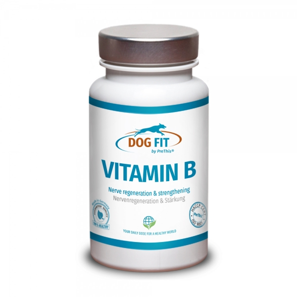 DOG FIT by PreThis® VITAMIN B Komplex für Hunde