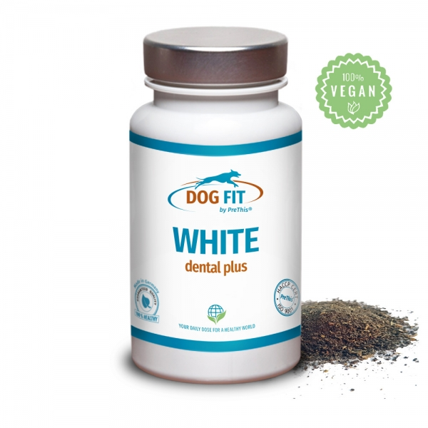 DOG FIT by PreThis® WHITE dental - Zahnsteinentferner für Hunde