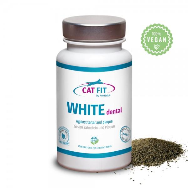 CAT FIT by PreThis® WHITE dental - Zahnsteinentferner für Katzen